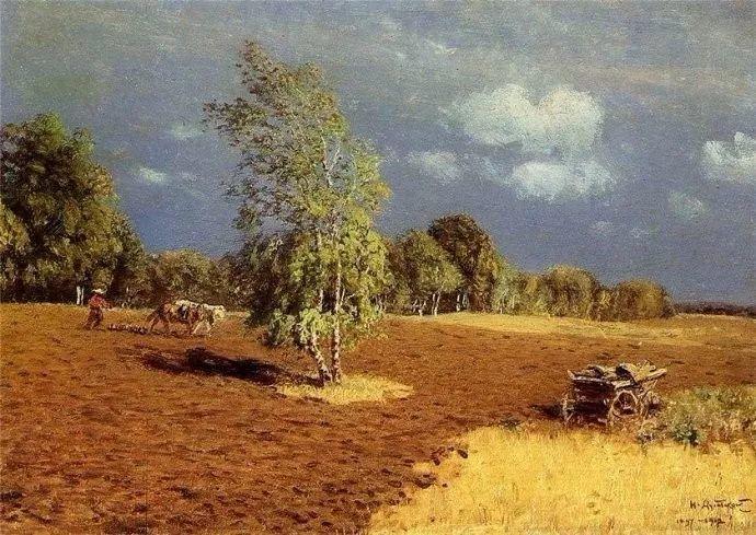 风景油画 俄罗斯画家杜波夫斯科伊作品欣赏插图38