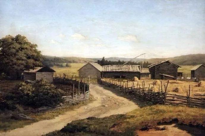 风景油画 俄罗斯画家杜波夫斯科伊作品欣赏插图39