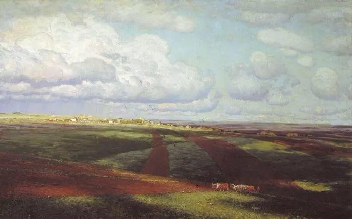 风景油画 俄罗斯画家杜波夫斯科伊作品欣赏插图41
