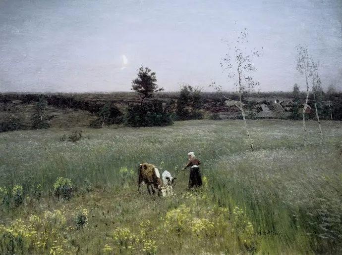风景油画 俄罗斯画家杜波夫斯科伊作品欣赏插图42