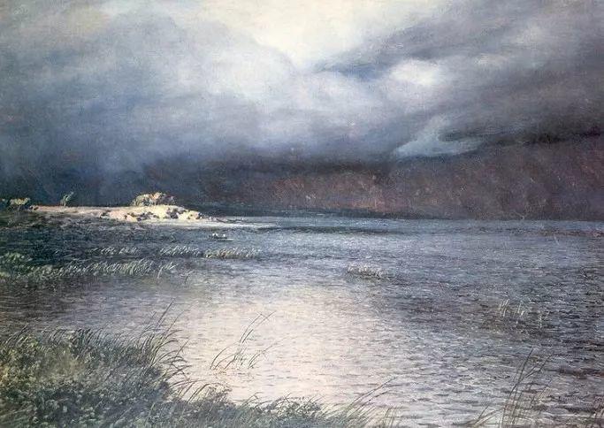 风景油画 俄罗斯画家杜波夫斯科伊作品欣赏插图45