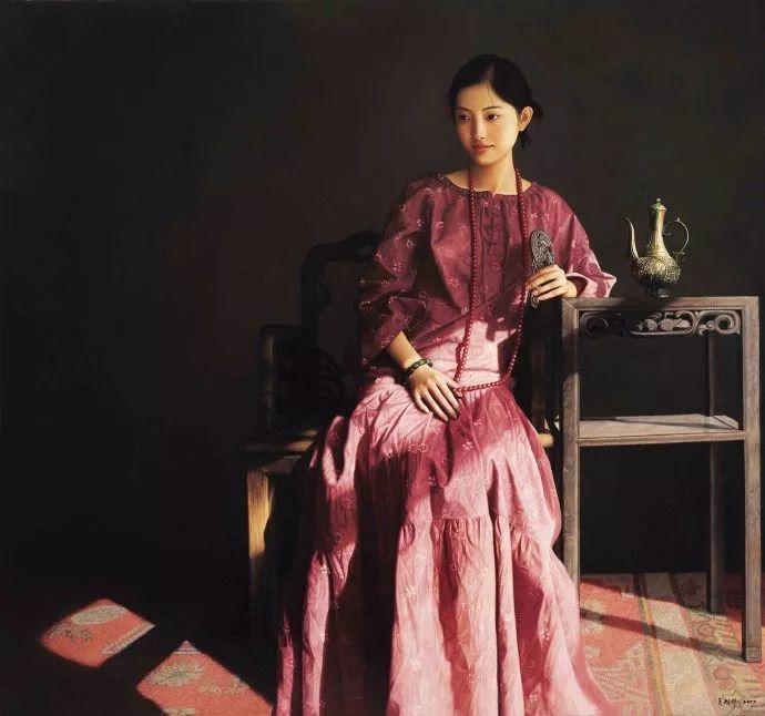 一幅油画卖到448万,这画中的少女到底有多美!插图2