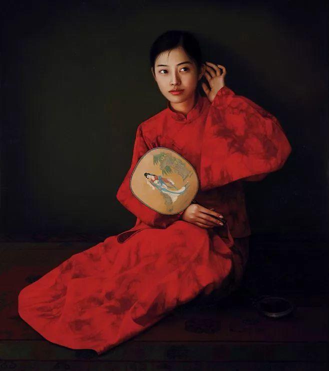 一幅油画卖到448万,这画中的少女到底有多美!插图6