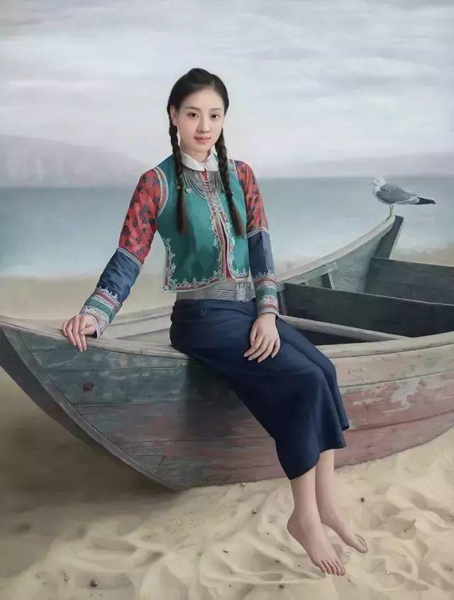 一幅油画卖到448万,这画中的少女到底有多美!插图8