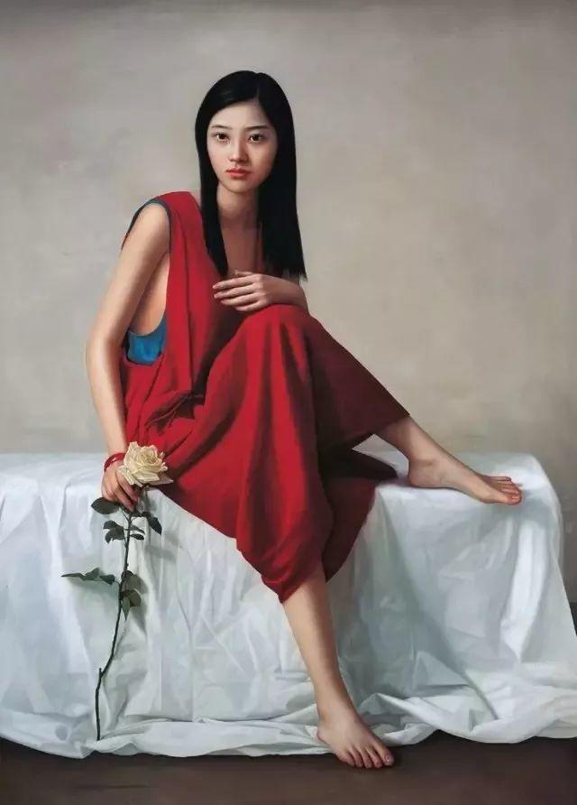 一幅油画卖到448万,这画中的少女到底有多美!插图10