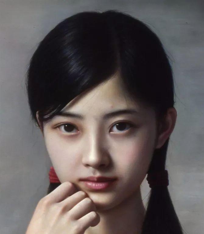 一幅油画卖到448万,这画中的少女到底有多美!插图21