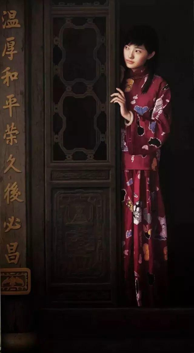 一幅油画卖到448万,这画中的少女到底有多美!插图36