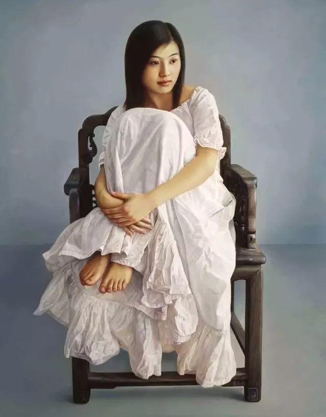一幅油画卖到448万,这画中的少女到底有多美!插图45
