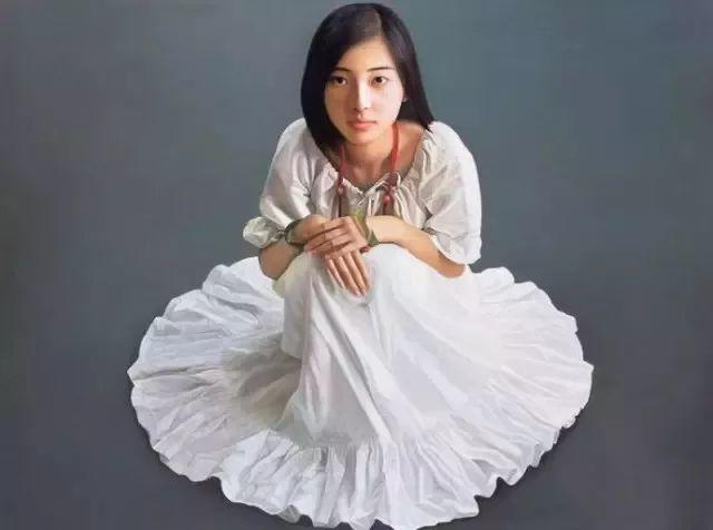 一幅油画卖到448万,这画中的少女到底有多美!插图53