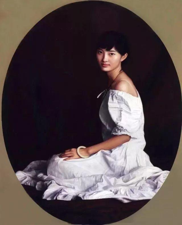 一幅油画卖到448万,这画中的少女到底有多美!插图55