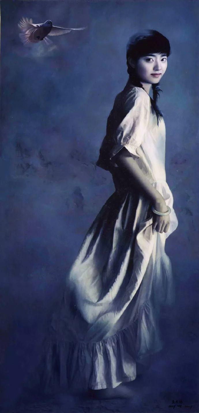 一幅油画卖到448万,这画中的少女到底有多美!插图60