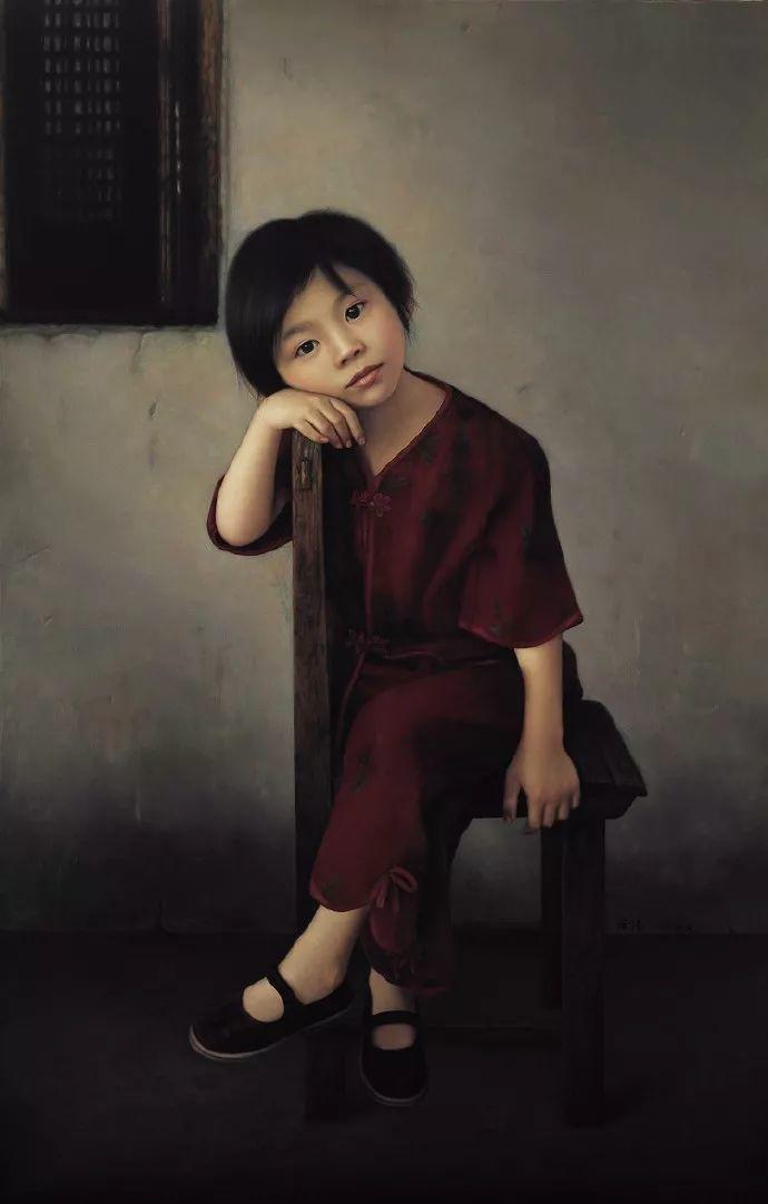 一幅油画卖到448万,这画中的少女到底有多美!插图62