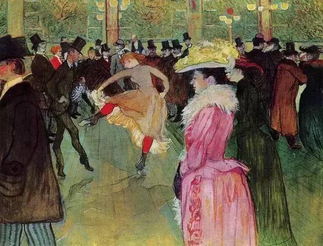 法国贵族,自幼残疾,年仅37岁,后印象派画家罗特列克插图