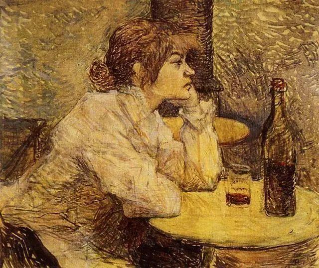 法国贵族,自幼残疾,年仅37岁,后印象派画家罗特列克插图6