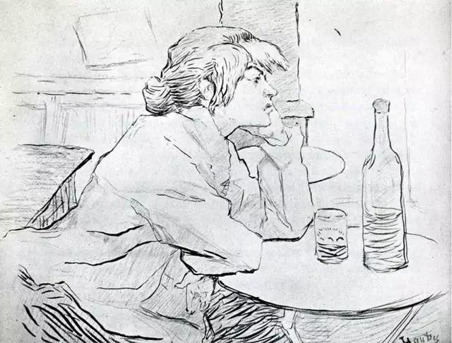 法国贵族,自幼残疾,年仅37岁,后印象派画家罗特列克插图7