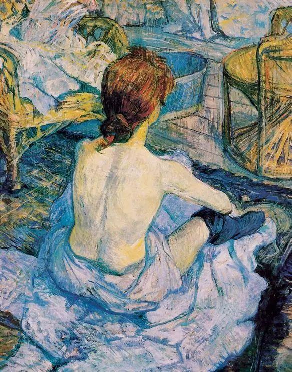 法国贵族,自幼残疾,年仅37岁,后印象派画家罗特列克插图11