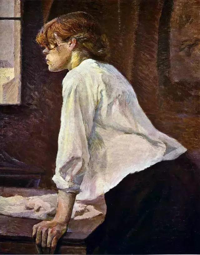法国贵族,自幼残疾,年仅37岁,后印象派画家罗特列克插图13