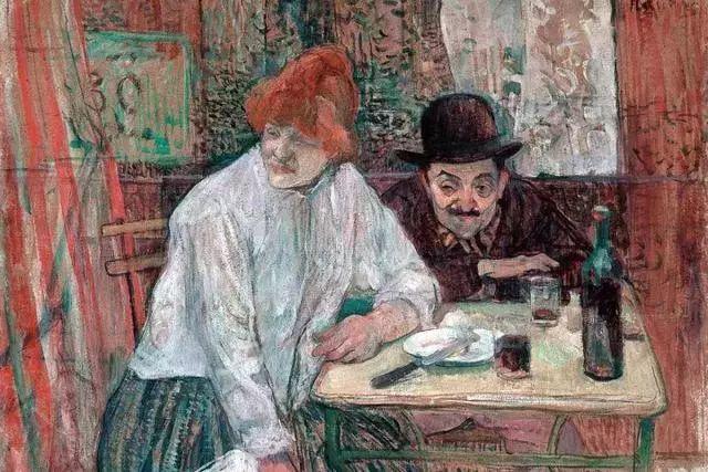 法国贵族,自幼残疾,年仅37岁,后印象派画家罗特列克插图15