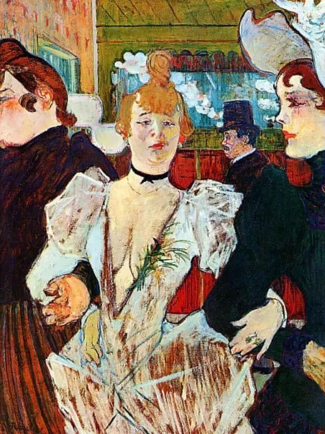 法国贵族,自幼残疾,年仅37岁,后印象派画家罗特列克插图16