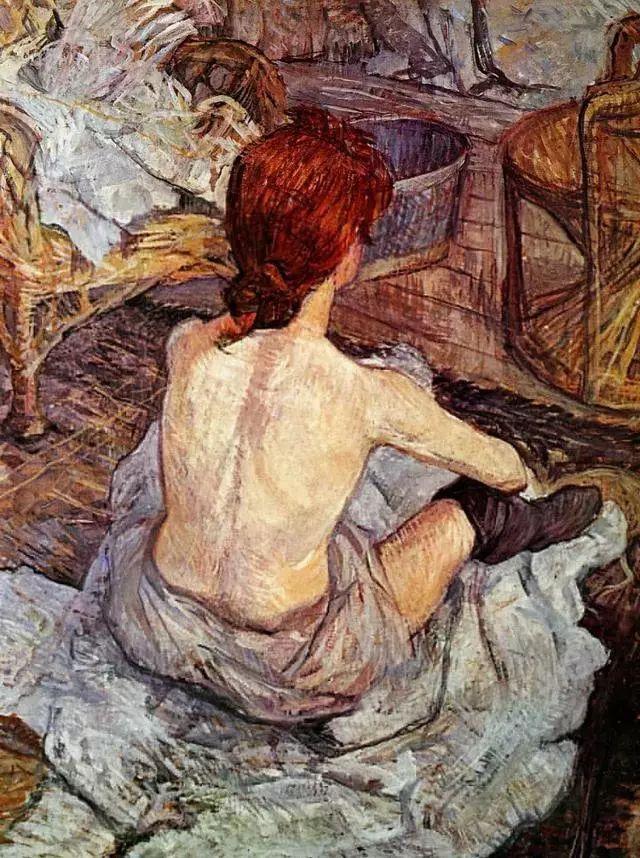 法国贵族,自幼残疾,年仅37岁,后印象派画家罗特列克插图18