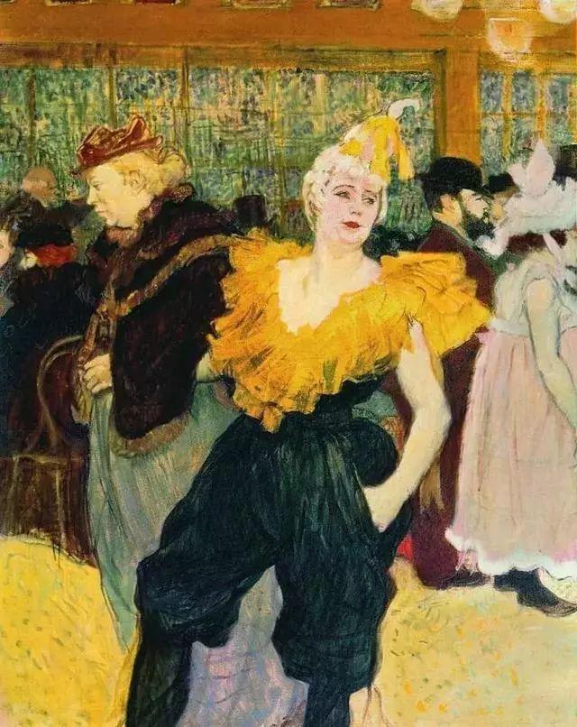 法国贵族,自幼残疾,年仅37岁,后印象派画家罗特列克插图20