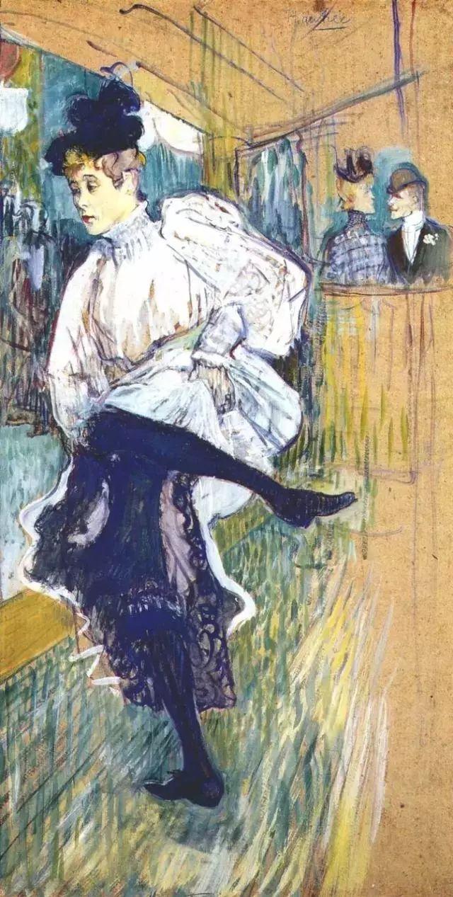 法国贵族,自幼残疾,年仅37岁,后印象派画家罗特列克插图25