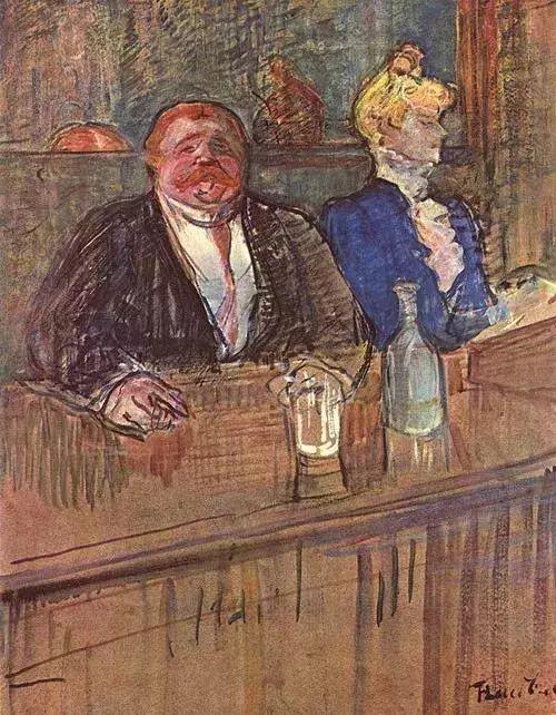 法国贵族,自幼残疾,年仅37岁,后印象派画家罗特列克插图26