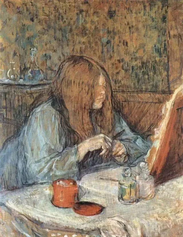 法国贵族,自幼残疾,年仅37岁,后印象派画家罗特列克插图27