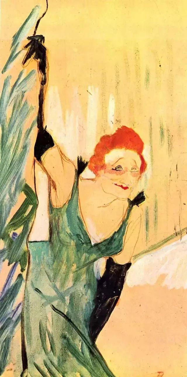 法国贵族,自幼残疾,年仅37岁,后印象派画家罗特列克插图28
