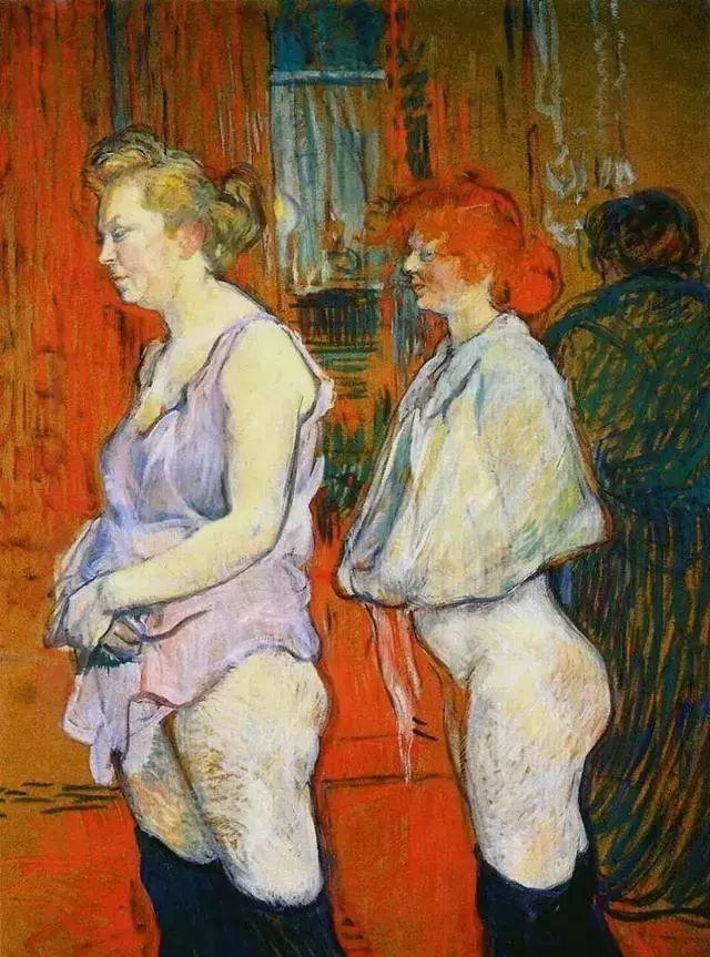法国贵族,自幼残疾,年仅37岁,后印象派画家罗特列克插图29