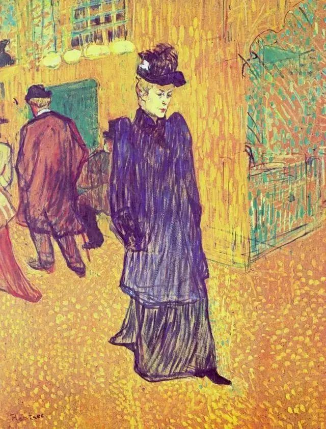 法国贵族,自幼残疾,年仅37岁,后印象派画家罗特列克插图30