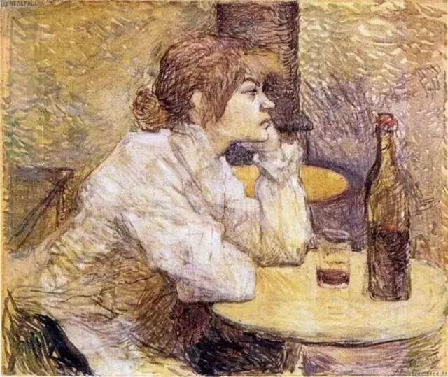 法国贵族,自幼残疾,年仅37岁,后印象派画家罗特列克插图33