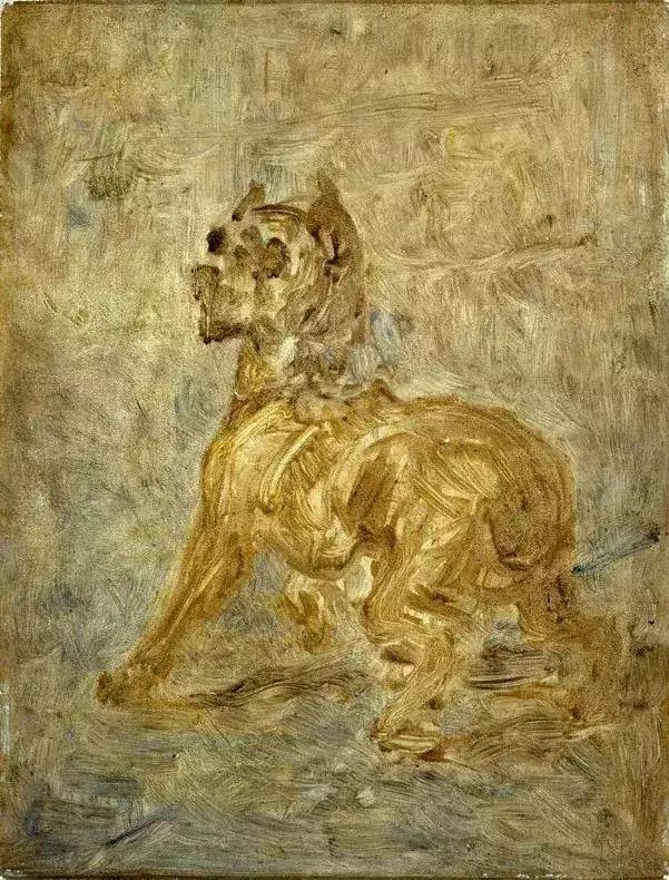 法国贵族,自幼残疾,年仅37岁,后印象派画家罗特列克插图35
