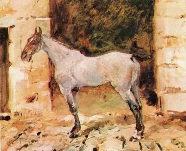 法国贵族,自幼残疾,年仅37岁,后印象派画家罗特列克插图39