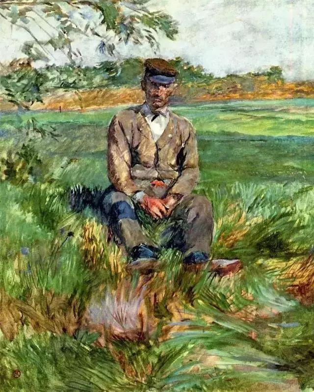 法国贵族,自幼残疾,年仅37岁,后印象派画家罗特列克插图41