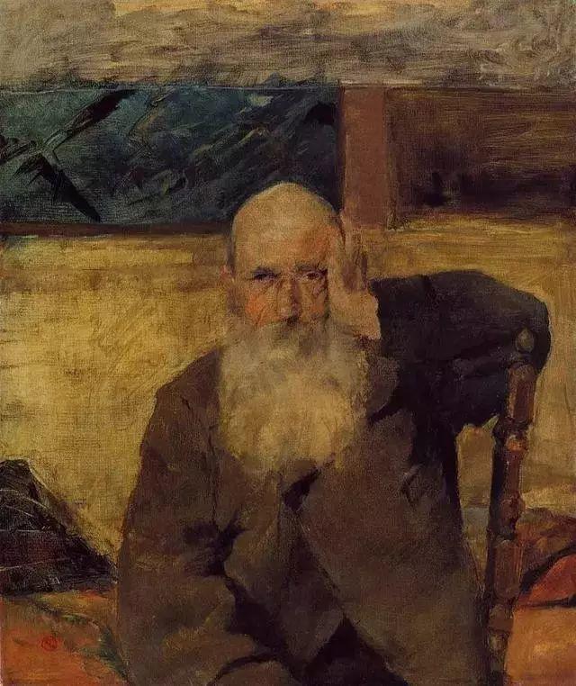 法国贵族,自幼残疾,年仅37岁,后印象派画家罗特列克插图43