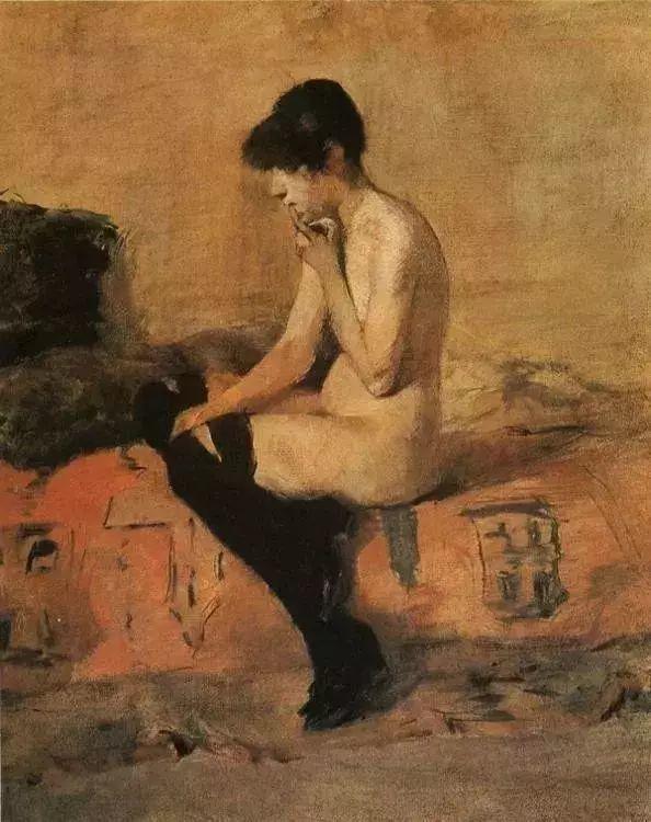 法国贵族,自幼残疾,年仅37岁,后印象派画家罗特列克插图44