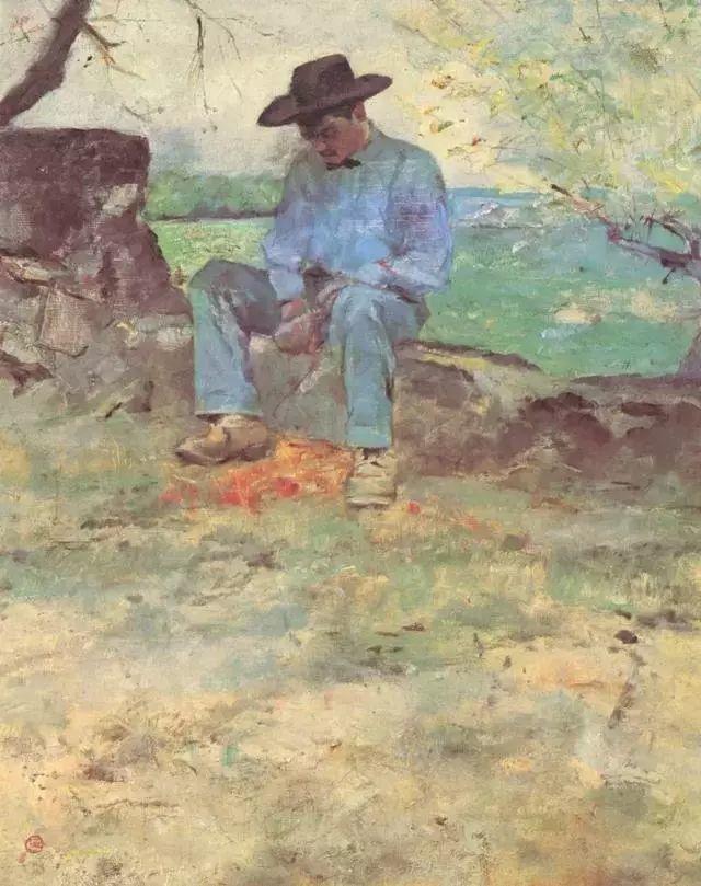 法国贵族,自幼残疾,年仅37岁,后印象派画家罗特列克插图47