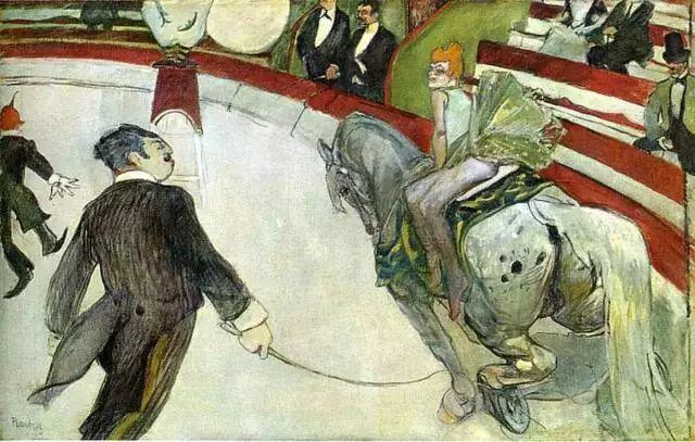 法国贵族,自幼残疾,年仅37岁,后印象派画家罗特列克插图51