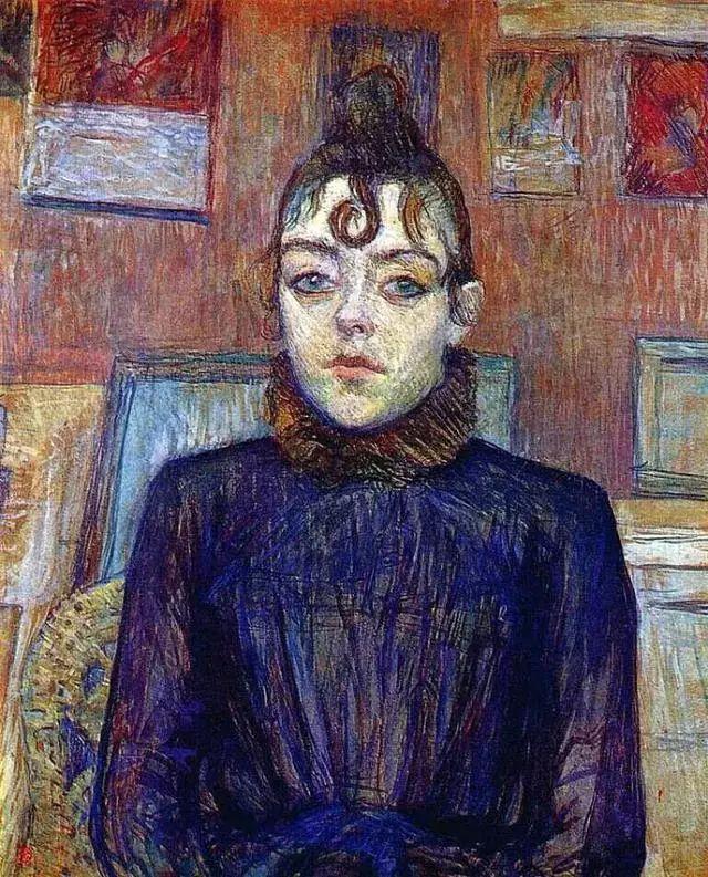 法国贵族,自幼残疾,年仅37岁,后印象派画家罗特列克插图52