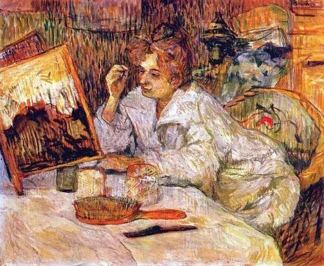 法国贵族,自幼残疾,年仅37岁,后印象派画家罗特列克插图53