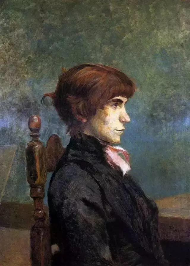 法国贵族,自幼残疾,年仅37岁,后印象派画家罗特列克插图54