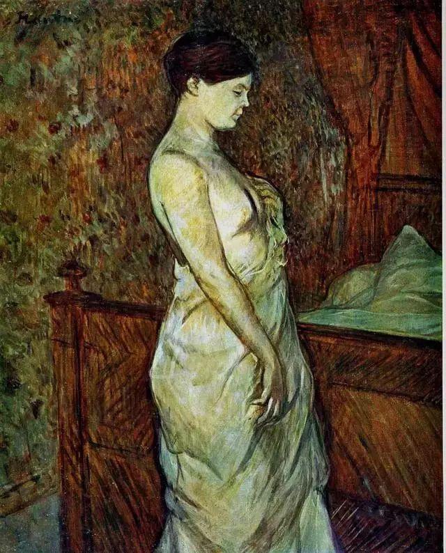 法国贵族,自幼残疾,年仅37岁,后印象派画家罗特列克插图55