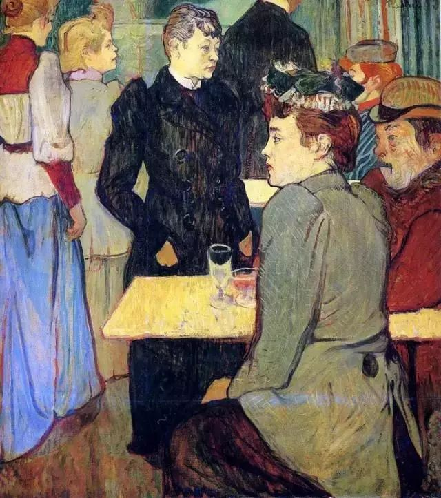 法国贵族,自幼残疾,年仅37岁,后印象派画家罗特列克插图56