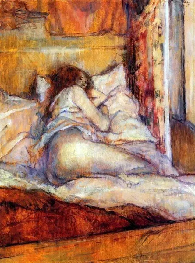 法国贵族,自幼残疾,年仅37岁,后印象派画家罗特列克插图58