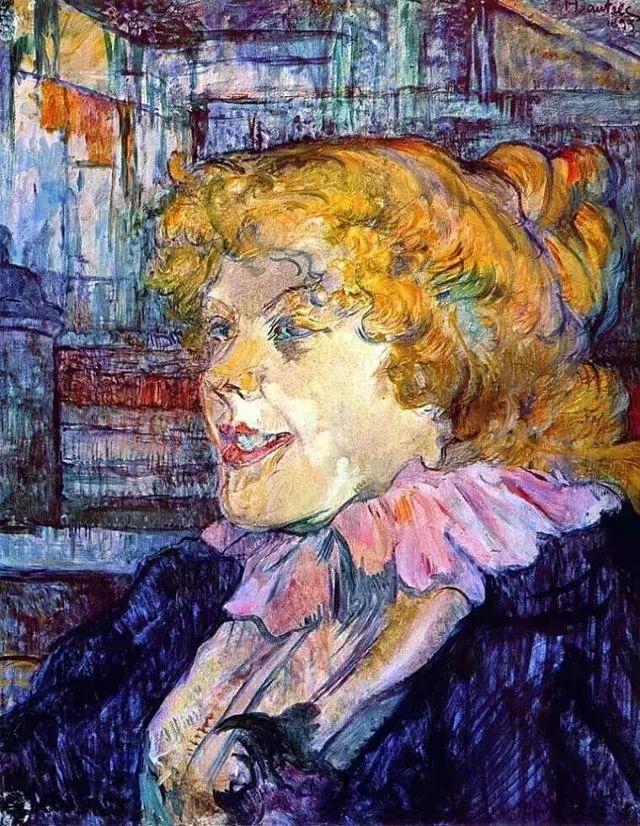 法国贵族,自幼残疾,年仅37岁,后印象派画家罗特列克插图65