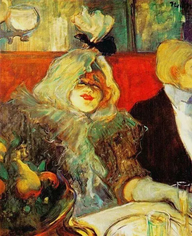 法国贵族,自幼残疾,年仅37岁,后印象派画家罗特列克插图69