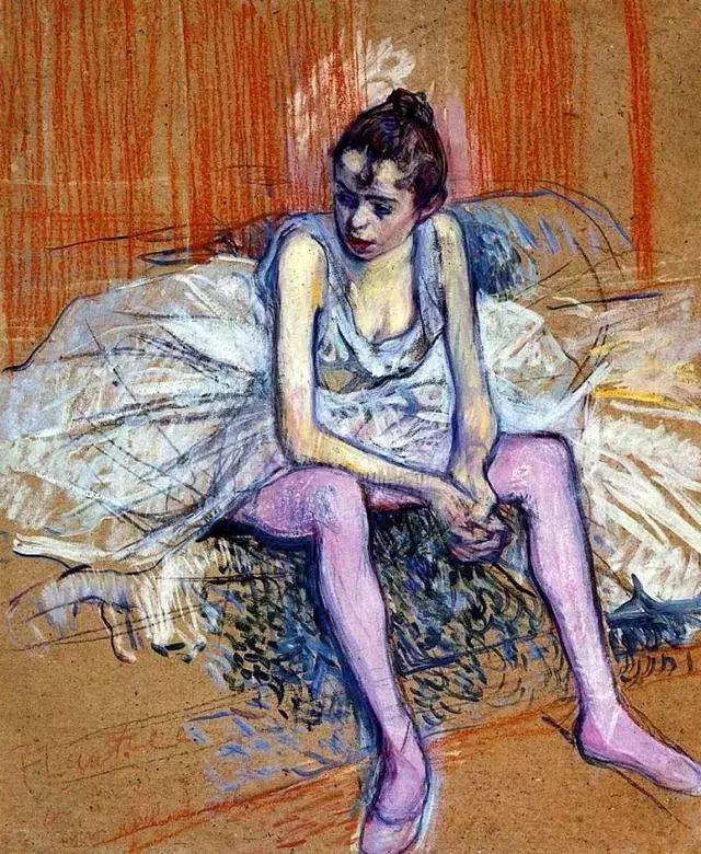 法国贵族,自幼残疾,年仅37岁,后印象派画家罗特列克插图70
