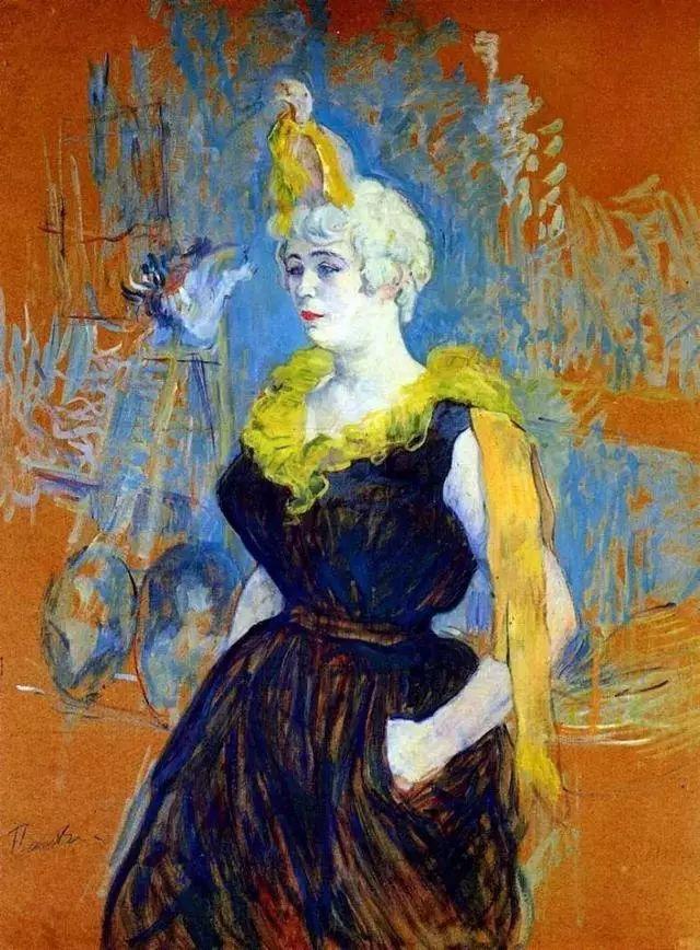 法国贵族,自幼残疾,年仅37岁,后印象派画家罗特列克插图71