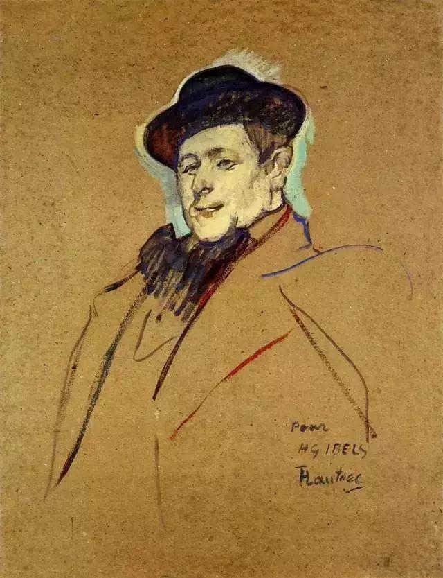 法国贵族,自幼残疾,年仅37岁,后印象派画家罗特列克插图72